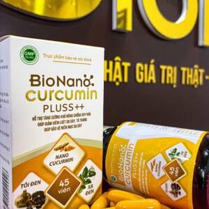 Bio Nanocurcumin Pluss++900mg/1 viên bổ sung TỎI ĐEN, XẠ ĐEN, CAO NẤM QUÝ (30 VIÊN )