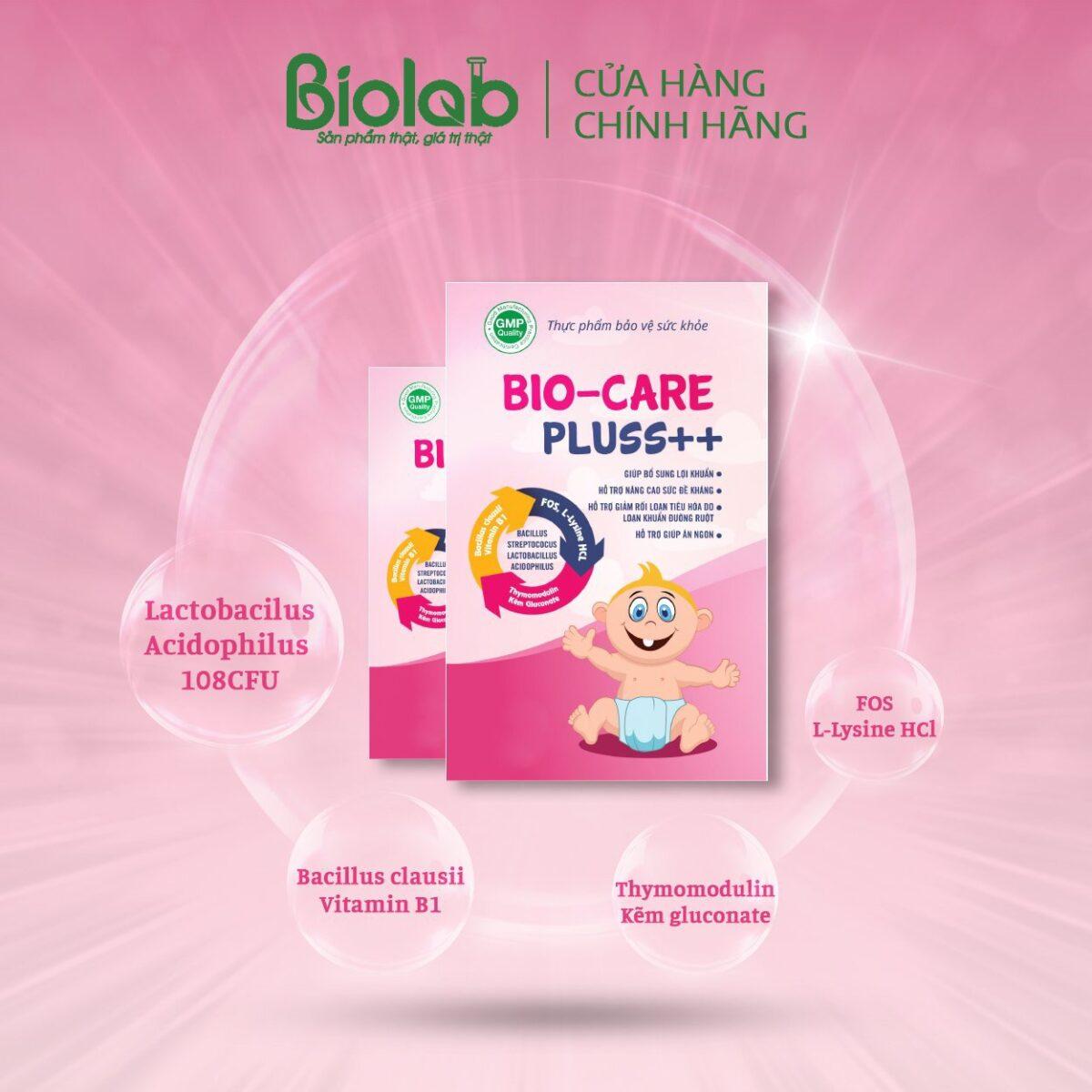 men vi sinh giúp cải thiện tình trạng rối loạn tiêu hoá ở trẻ