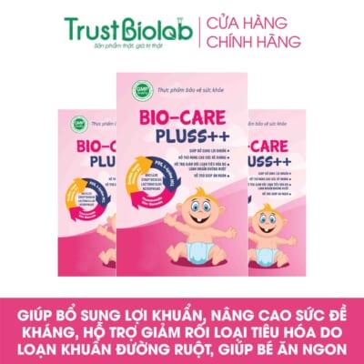 MEN VI SINH Biocare Pluss ++TĂNG CƯỜNG SỨC ĐỀ KHÁNG ( 20 GÓI )