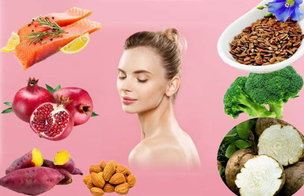 bổ sung thực phẩm cân bằng nội tiết tố nữ sau sinh