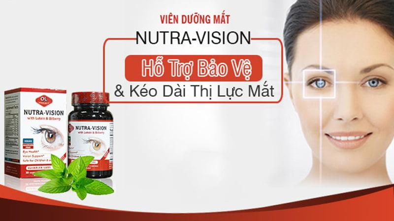 sản phẩm sáng mắt Nutra Vision