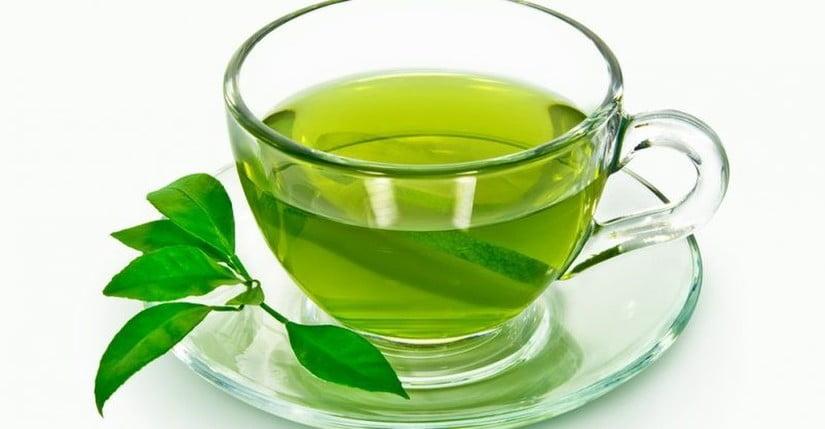 thực phẩm giảm đau dạ dày hiệu quả - trà xanh