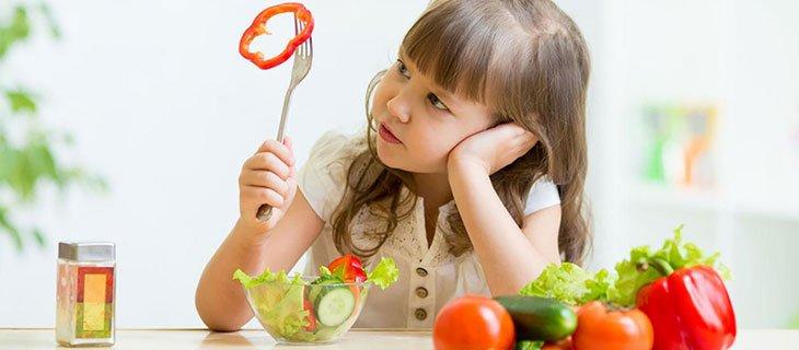 giảm tình trạng biếng ăn ở trẻ